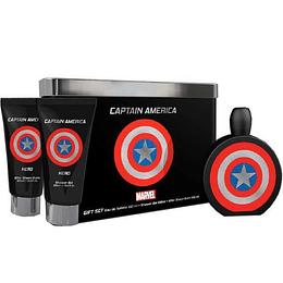 Marvel Captain Hero Estuche 3Pcs 100Ml Hombre  Edt