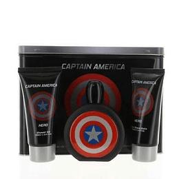 Marvel Captain America  Estuche 3Pcs 100Ml Hombre  Edt