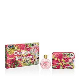 Fresh Bloom Desigual Estuche 100Ml + Crema Mujer  Edt
