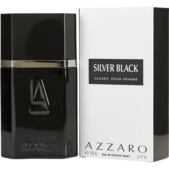 Silver Black Azzaro 100Ml Hombre  Edt