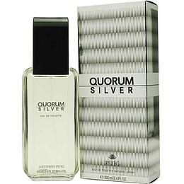 Quorum Silver Antonio Puig 100Ml Hombre  Edt
