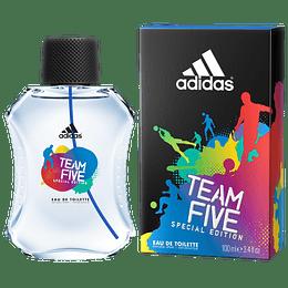 Team Five Adidas 100Ml Hombre  Edt