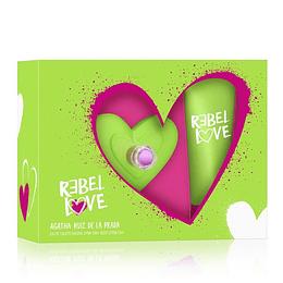 Rebel Love Agatha Ruiz De La Prada Estuche 80Ml+ Bl Mujer  Edt