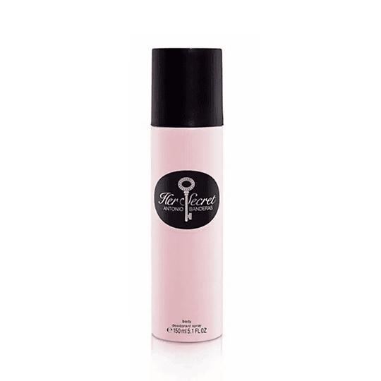 Antonio Banderas Her Secret 150Ml Mujer Desodorante
