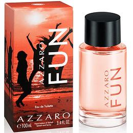 Azzaro Fun 100Ml Unisex Edt (Nuevo)