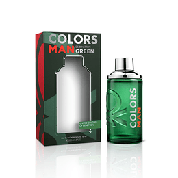 Benetton Colors Green 200Ml Hombre Edt