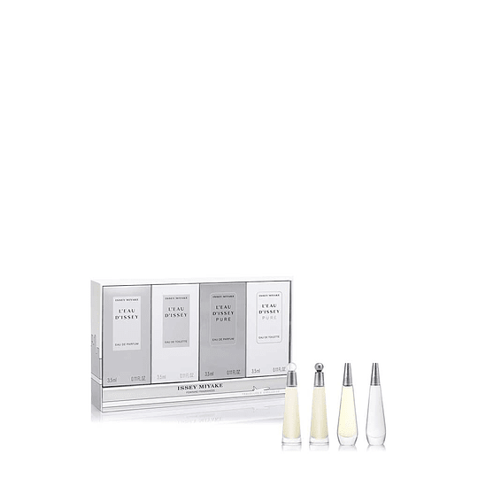 L Eau D Issey Issey Miyake Set 4Ml Mujer Edp