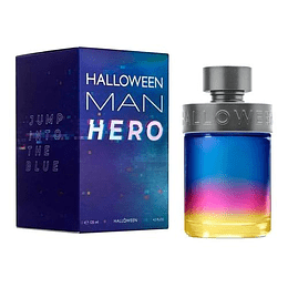 Halloween Man Hero Jesus Del Pozo 125Ml Hombre Edt (Nuevo)