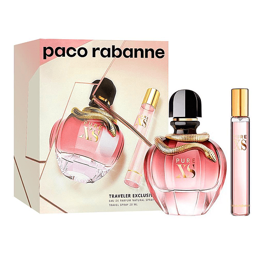 Xs Pure Paco Rabanne Estuche 80Ml + 20Ml Mujer  Perfume
