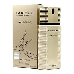 Lapidus Gold Extreme Ted Lapidus 100Ml Hombre  Agua De Tocador