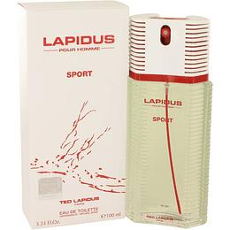 Pour Homme Sport Ted Lapidus 100Ml Hombre  Agua De Tocador