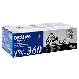 Tóner Brother TN 360 Negro