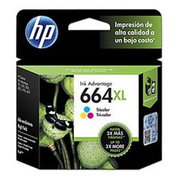 Cartucho de Tinta HP 664 XL Tricolor
