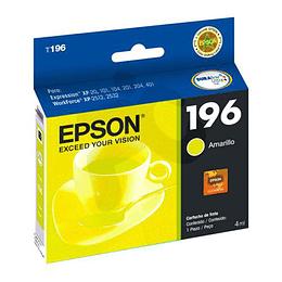 Cartucho de Tinta Epson T196420 Yellow