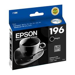 Cartucho de Tinta Epson T196120 Negro