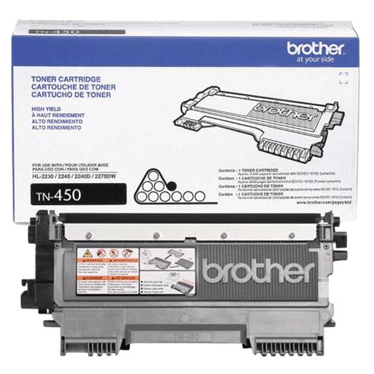 Tóner Brother TN-450 Negro