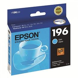 Cartucho de Tinta Epson T196220 Cian