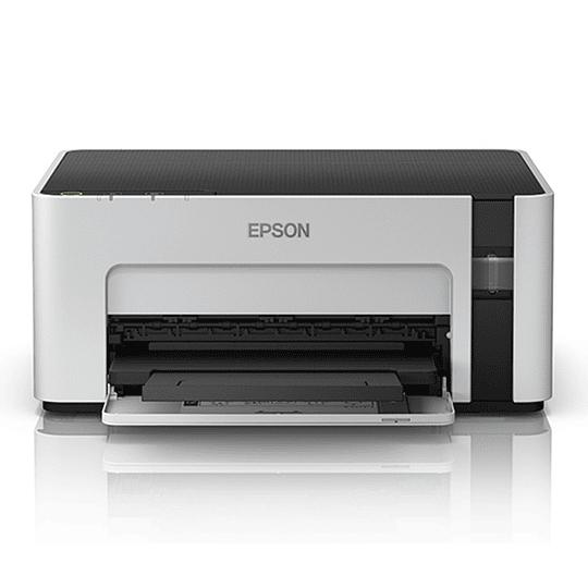 Impresora Epson Tinta Continua Blanco y Negro EcoTank M1120