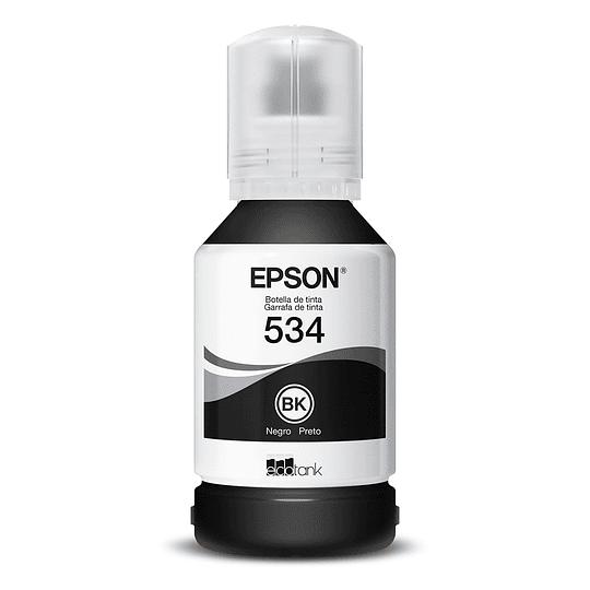 Botella de Tinta Negra Epson T534