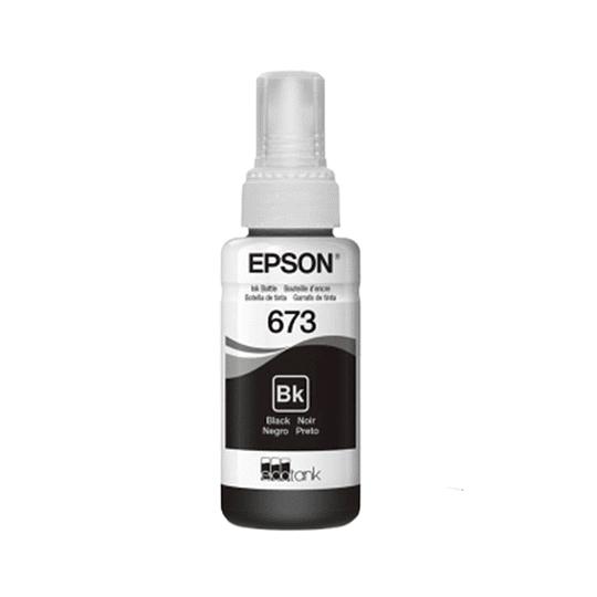 Tinta Epson T 673 Negro