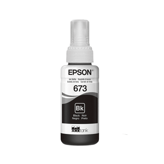 Tinta Epson T673 Negro
