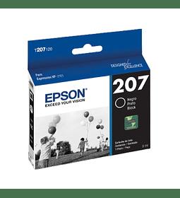 Cartucho de Tinta Epson T207 Negro