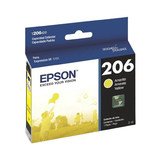Cartucho de Tinta Epson T206 Yellow