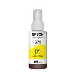 Tinta Epson T673 Amarillo