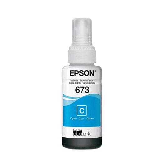 Tinta Epson T673 Cian