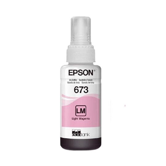 Tinta Epson T 673 Magenta Claro