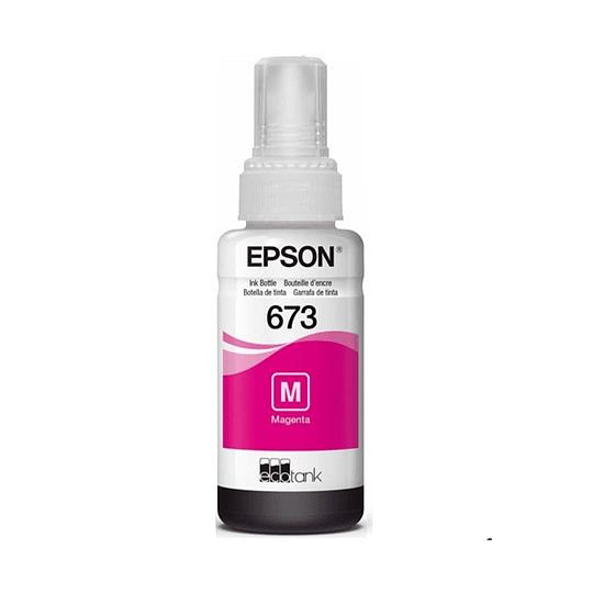 Tinta Epson T 673 Magenta