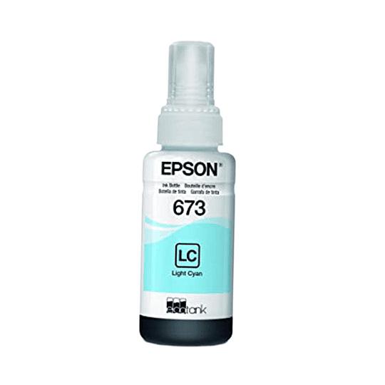 Tinta Epson T673 Cian Claro