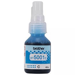 Botella de Tinta Brother BT5001 Cyan