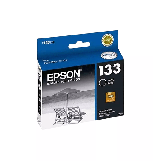 Cartucho de Tinta Epson T133 Black