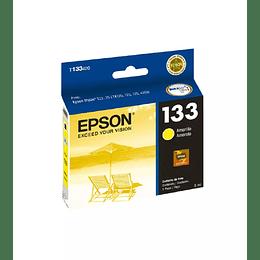 Cartucho de Tinta Epson T 133 Amarillo
