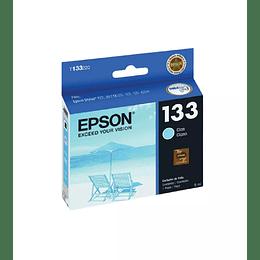 Cartucho de Tinta Epson T133 Cian