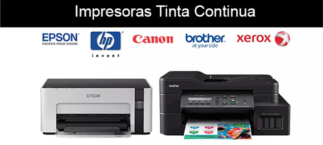 Impresoras Tinta Continua