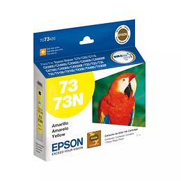 Cartucho de Tinta Epson T 73 Amarillo