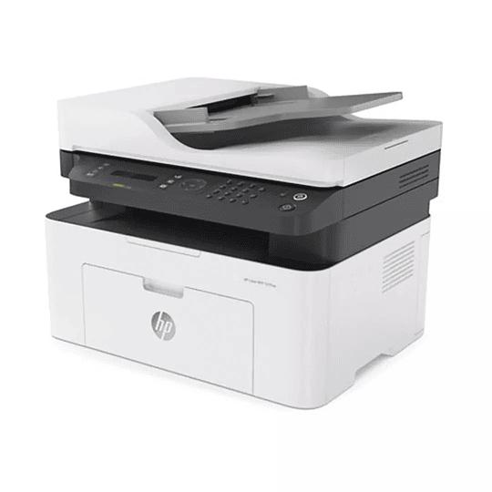Impresora HP Láser Multifuncional MFP 137fnw Monocromática