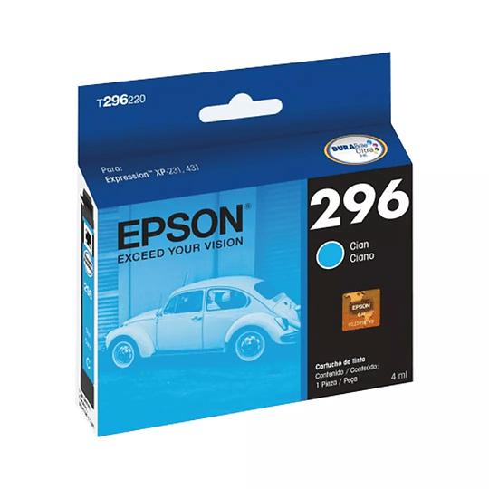 Cartucho de Tinta Epson T 296 Cian