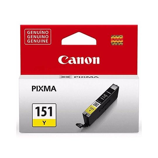 Cartucho de Tinta Canon CLI-151 Amarillo