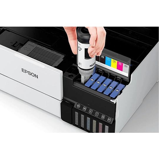 Impresora Fotográfica Epson Ecotank L8160 A4 MFP