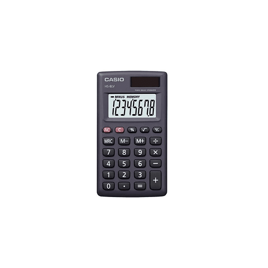 CALCULADORA 8 DIGITOS HS-8 CASIO