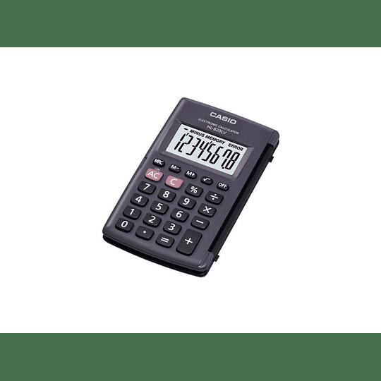 CALCULADORA BASICA BOLS. 8DIG CASIO HL-820