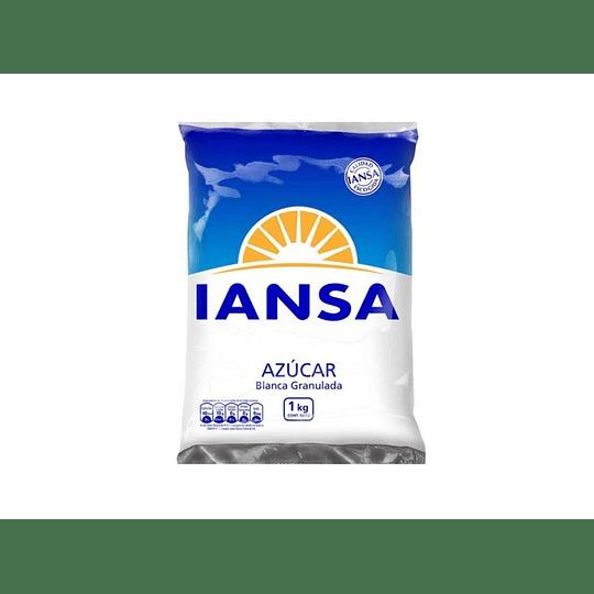 AZUCAR GRANULADA BOLSA 1 KG IANSA