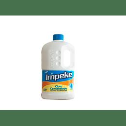 CLORO CONCENTRADO 5% BIDON DE 2 LT IMPEKE