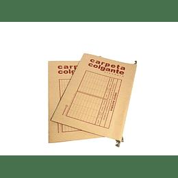 CARPETA COLGANTE KRAFT GANCHO METAL REM