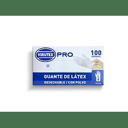 GUANTE QUIRURGICO TALLA L BLANCO (100 UN) VTX PRO