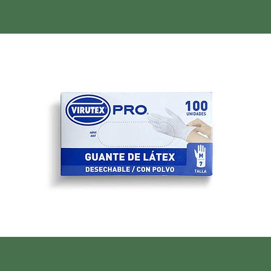 GUANTE QUIRURGICO TALLA M BLANCO (100 UN) VTX PRO