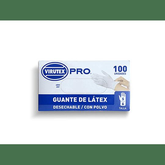 GUANTE QUIRURGICO TALLA S BLANCO (100 UN) VTX PRO